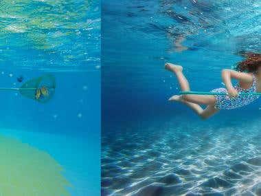 Underwater shoots