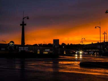 Burslem Sunset