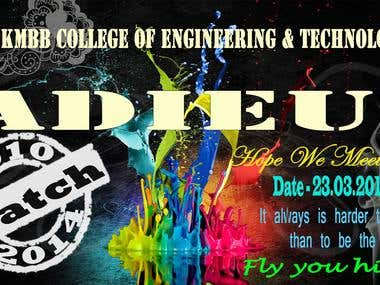 Event Banner Design For Institution