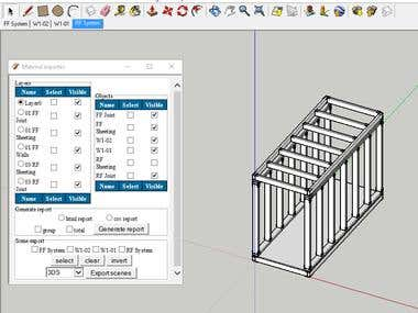SketchUp extension in ruby