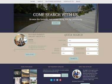 Real Estate Website - RETS/IDX Feed - MLS Search - CRM