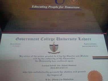 HONS certification