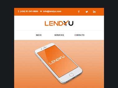 Email Template for LENDYU