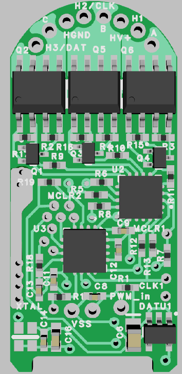 Force servo motor controller