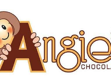 Logotipo Angie´s Chocolates