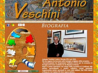Sito Web Antonio Veschini