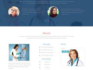 Gynecologist Website