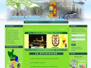 Sito Web Co.I.S.P. Calabria