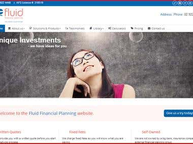 Fluid Financial Planning