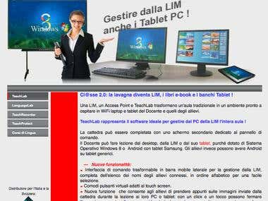 Sito per Teach Lab