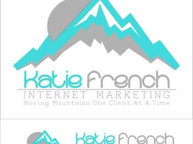 Katie French Marketing Branding/Logo