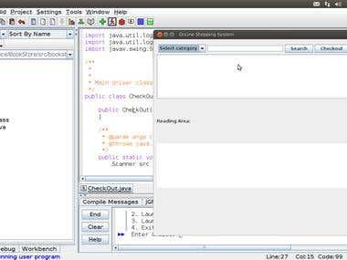 Swing GUI Application