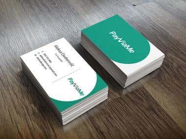 Logo and visit card design