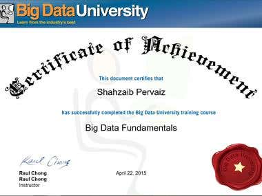Big Data Fundmentals