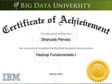 Hadoop Fundamentals I