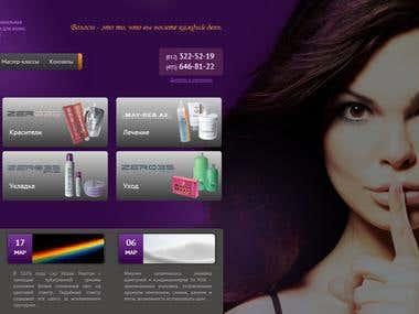 Drupal 7 HTML5 CSS3 SASS/Compass Website