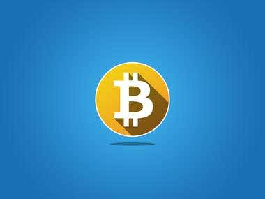 Bitcoin Icon Design