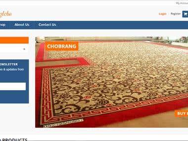 online carpet store