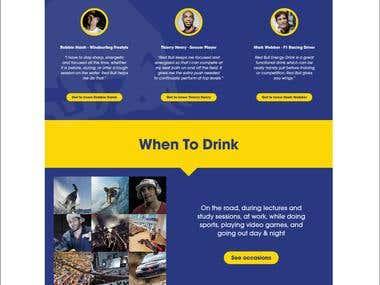 Red Bull Website