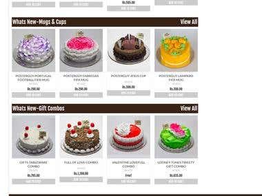 cake online store