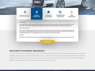 Phonex - Web Design