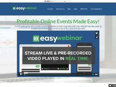 Easy Webinar Plug-in