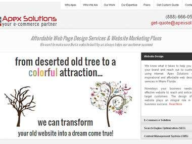 Website Design & Development, PHP