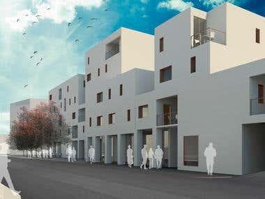 3D colective housing
