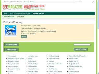 Customize Business Directory Plugin