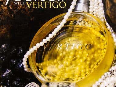 Perfume posters Design