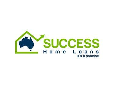 Winning Logo Design SUCCESS home loans