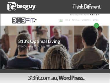 313 OptimalLiving - WordPress Site