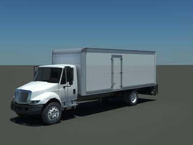 Box Truck Render