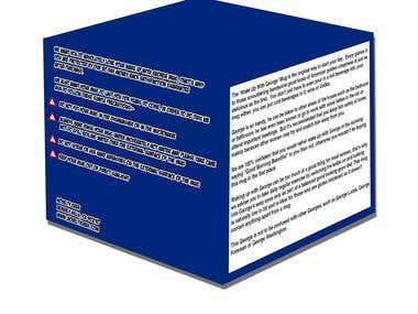 Box and label design