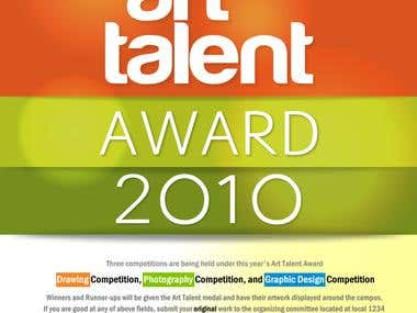 Art Talent Award