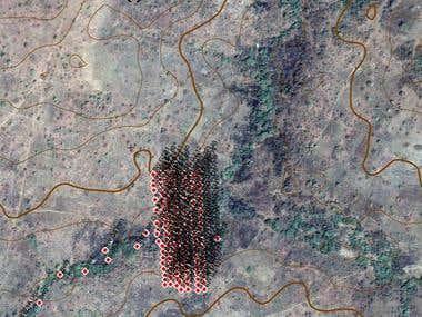West Africa, Sampling map design