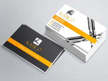 Kamco Business Card Design