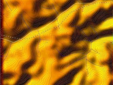 Geomorphology study, infrastructure design, West Africa