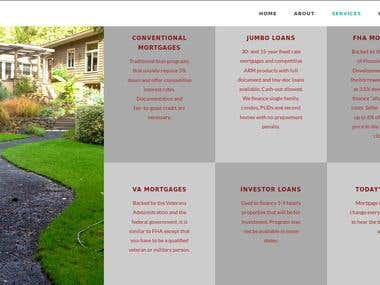 Brochure / Identity Site -- Boutique Mortgage Broker