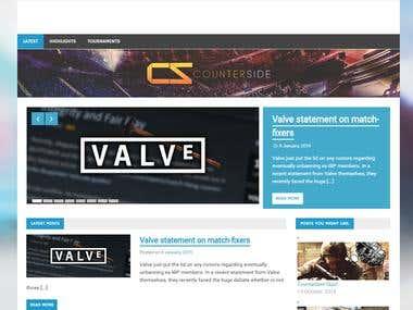 Wordpress website installed/designed