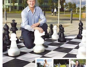 Advertisement for Quorum Business Park