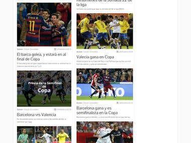 Blog de deportes