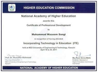 ITE Certification