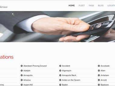 Car Rent Website For USA Client