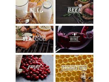 Static Website - Australia Food and Wine