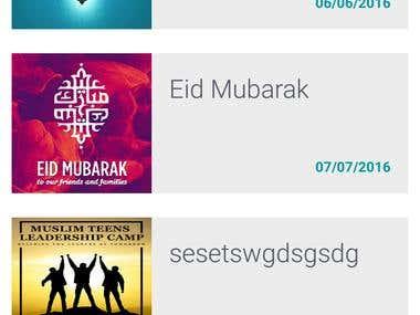İslamic App With CMS