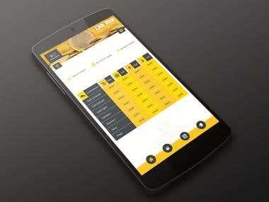Android & iOS App - HOB India - Investment Company