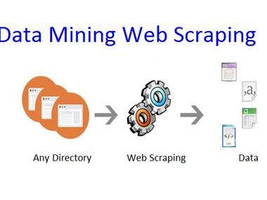 Data Mining Web scraping