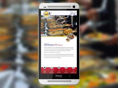 Android App - Static - S R Caterers