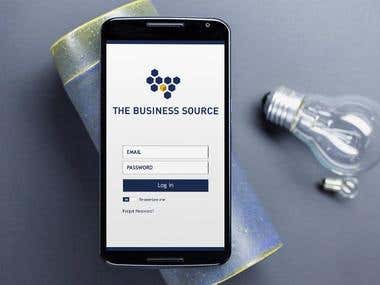 Android & iOS App for E Library - The Business Source
